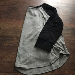 Mossimo Black and Gray Shirt
